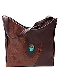EMBOSSED STONE TOTE
